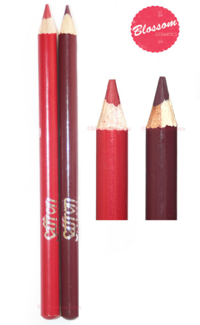 Saffron LIP LINER PENCIL Soft Lip Liner DIAMOND RED WINE PLUM