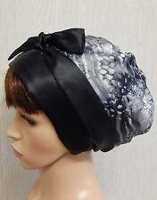 Women's satin head scarf, Jewish tichel, sleeping cap wrap, satin hair bonnet