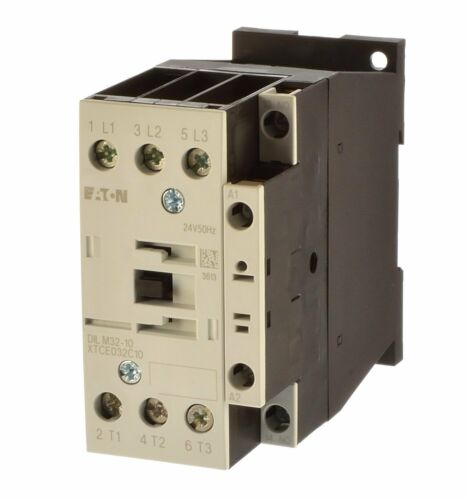 Eaton DILM 32-10 protège 15 KW bobine 24vac Art 277247