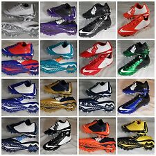 New Nike Vapor Speed Low & 3/4 2 TD Football Cleats Black Gold White Blue Red