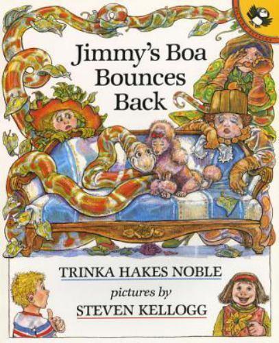 Jimmy s Boa Bounces Back By Noble, Trinka Hakes - $1.99