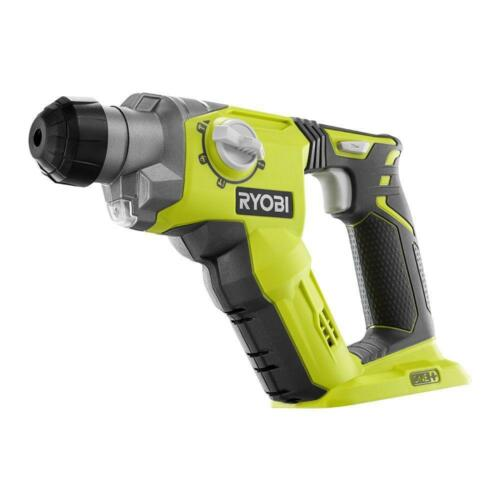 Cordless SDS-Plus Rotary Hammer Drill Bare Tool Ryobi P222 ONE 18-Volt 1//2 in