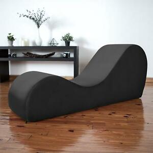 Details about Premium Deluxe Yoga Relaxation Chaise Sex furniture Romance  Seat Chair Love Sofa