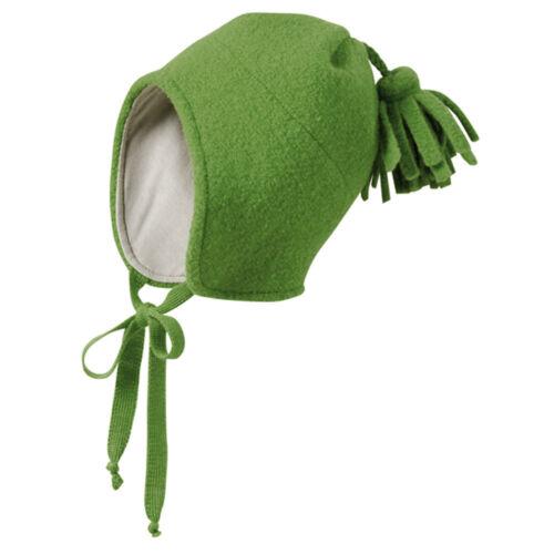 disana Baby//Kinder Walk-Mütze gefüttert Bio-Merinoschurwolle