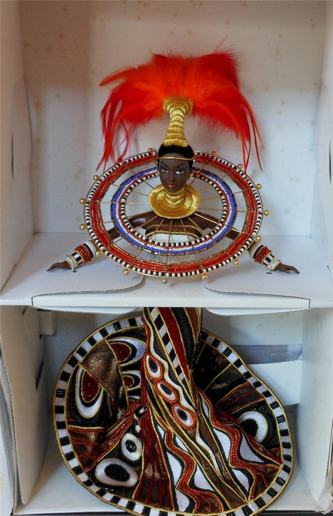 Bob Mackie  Fantasía Diosa De África Barbie  Mib