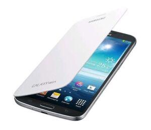 Galaxy-Mega-6-3-034-Azul-Blanco-I9200-I9208-Funda-Libro-Samsung-Original-Caja-Al