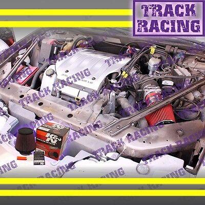 AIR INTAKE KIT FOR 2002 2003 2004//02 03 04 INFINITI I35 3.5 3.5L V6 K/&N Red