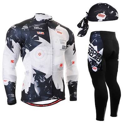 FIXGEAR CS-1701 SET Cycling Jersey & Padded Pants,MTB Bike,BMX,Beanie Free GIFT