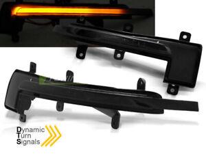 Frecce-Dinamiche-LED-Laterali-per-Specchietto-AUDI-TT-8J-2006-2014-Fume-039-IT-KBAU