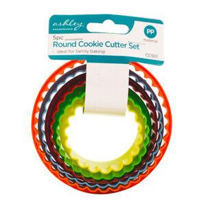 Ashley Round Cookie Cutter Set 5pc Set