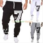 Men Casual Sport Sweat Pants Harem Baggy Jogging Training Dance Slacks Trousers