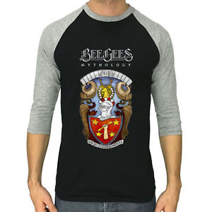 Bee Gees Shirt Mythology Gibb 3 4 Sleeve Raglan T Shirt S