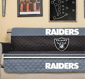 Image Is Loading OAKLAND RAIDERS NFL FOOTBALL TEAM SOFA COUCH FURNITURE