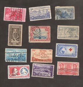 US-LOT-USA-United-States-Postal-Stamps-to-Check