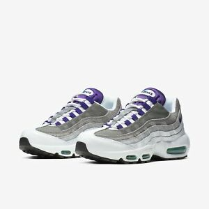 Details about Nike Air Max 95 LV8 Grape Fashion Shoes Sneakers AO2450 101