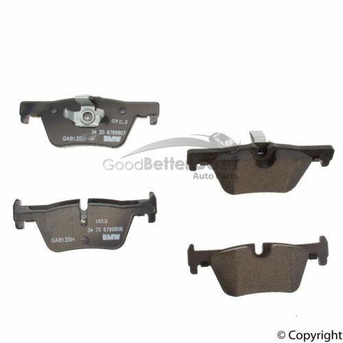 New Genuine Disc Brake Pad Set Rear 34206799809 for BMW