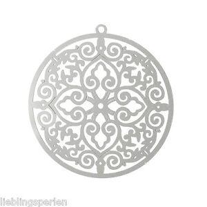 LP-10-Edelstahl-Ahanger-fuer-Kette-Halskette-Kreuz-Herz-Rund-Silber-3-8x3-5cm