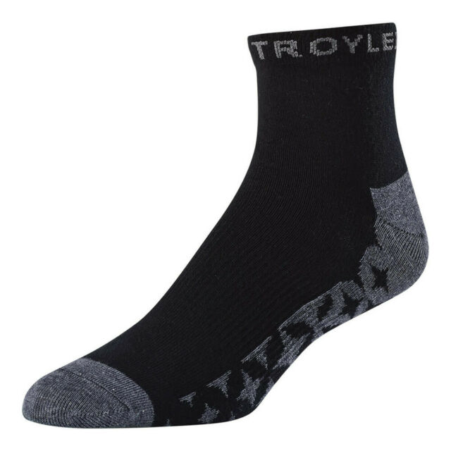 Troy Lee Designs TLD Factory Crew Socks White Adult Size 8-13 3 Pack