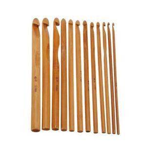 Hilo-de-ganchillo-Gancho-de-bambu-Kit-de-herramienta-de-Costura-Agujas-De-Tejer-3-10-mm-madera
