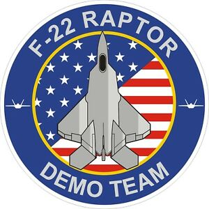 U-S-Air-Force-F-22-Raptor-Demo-Team-Decal-Sticker