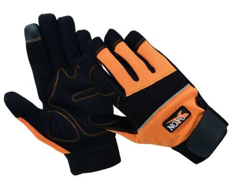 Gants de travail Protection des mains mécanique Tradesman Farmer/'s jardinage constructeurs
