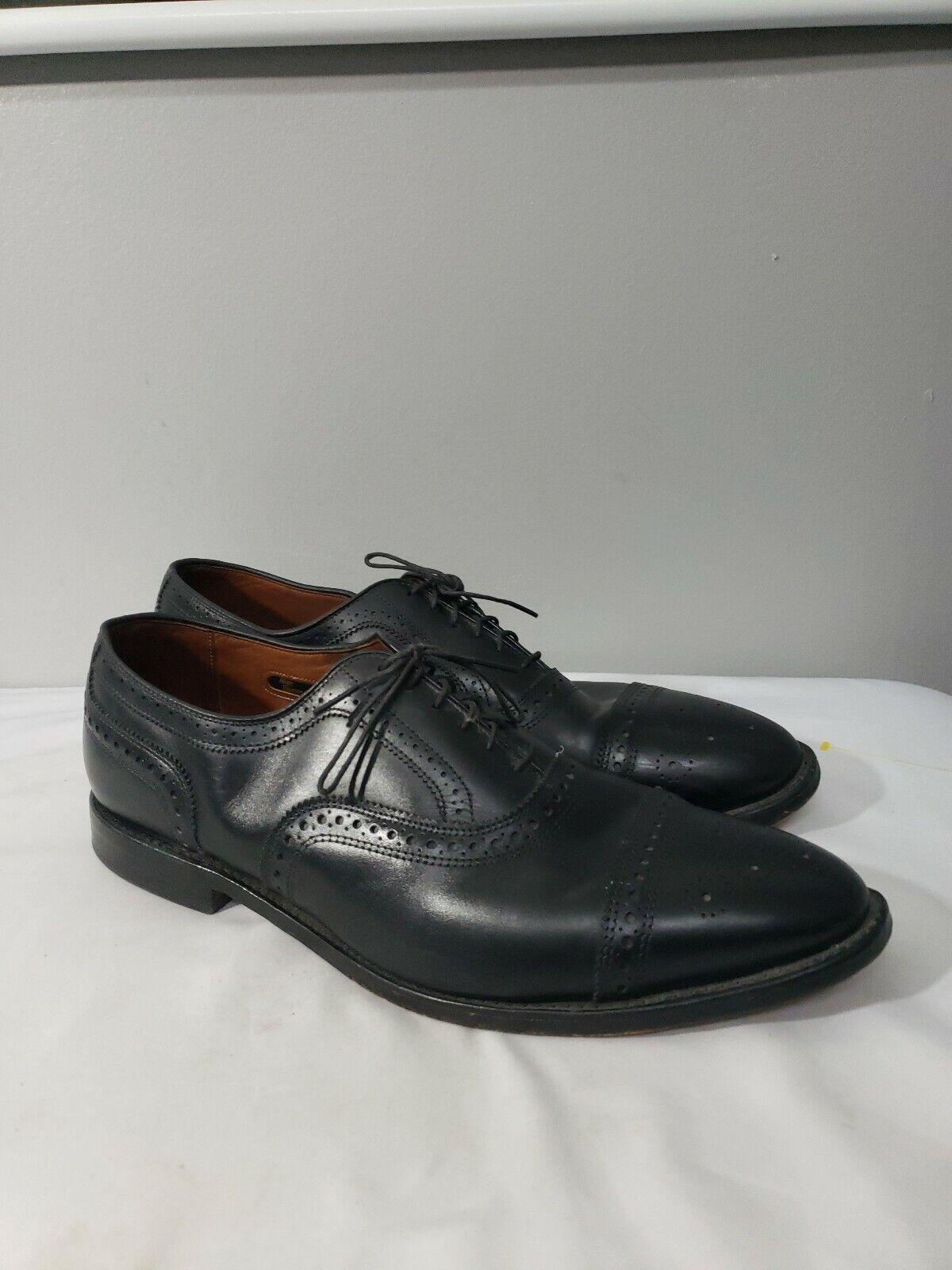 Allen Edmonds pour Brooks Brougehers Strand Noir 13 D Balmoral   Chaussures