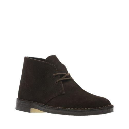 Clarks Originals Men/'s Desert Boot Brown Suede 26138229