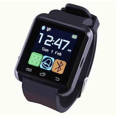 2018 Bluetooth Smart Watch Phone Mate Wristwatches For Samsung iPhone LG Huawei