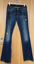 SEVENTY JEANS BLUE BOOTCUT DISTRESSED LOOK SIZE 42  UK 8 BNWTS