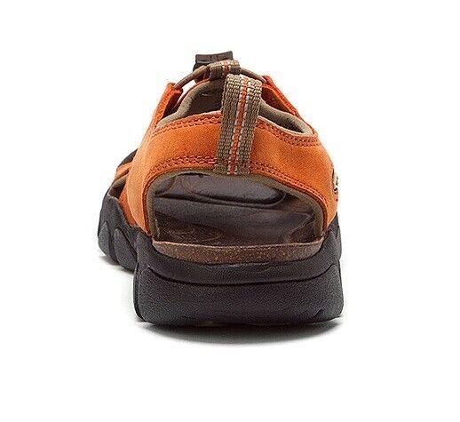 KEEN Leder WOMEN'S SARASOTA Sandales Rust Leder KEEN Sport Waterproof Schuhes 5 368d48