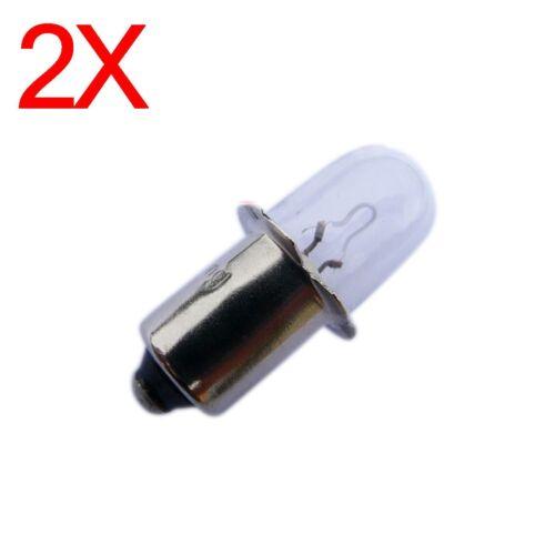 2 Flash light Bulbs for Metabo 15.6V  Battery Torch camping finishing Caravan OZ
