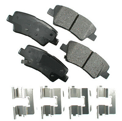 Akebono ACT835 ProACT Ultra-Premium Ceramic Brake Pad Set