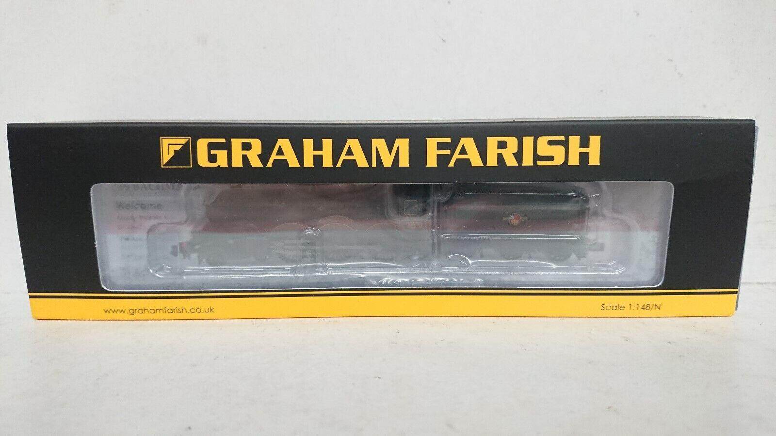Graham Farish N Gauge 372032 Castle classe Sir Daniel Gooch BR verde 18DCC nuovo