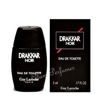 Guy Laroche Drakkar Noir Eau de Toilette Miniature Collectible 0.17oz 5ml * New