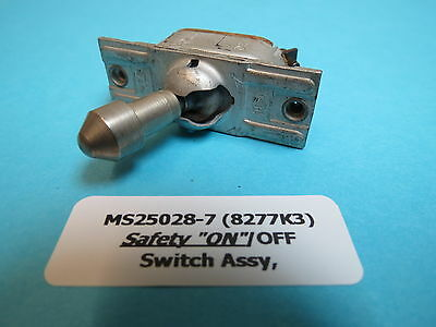 AN3022-2 Aircraft SPST Toggle Switch