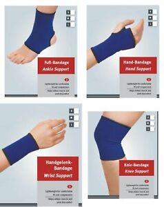 Sportbandage-stuetzen-Guter-Halt-und-Tragekomfort-Bandage-NEU