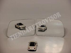 VW CADDY 2005 CRISTAL RETROVISOR LATERAL CONVEXO MIROIR GLACE ESPELHO