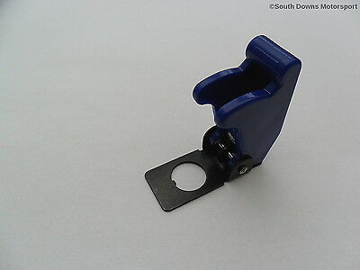 Toggle Switch Flip Up Aircraft Style Cover - Blue