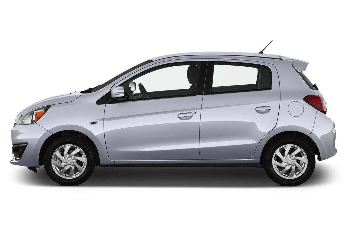 Mitsubishi Mirage side view