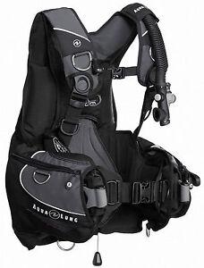 Aqua-Lung-AXIOM-Hybrid-Tarierjacket-schwarz-grau-inklusive-Bleisystem-amp-Tasche