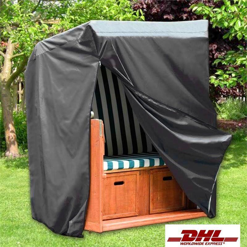 strandkorb schutzh lle schutzhaube abdeckhaube h lle f r strandkorb schwarz neu ebay. Black Bedroom Furniture Sets. Home Design Ideas