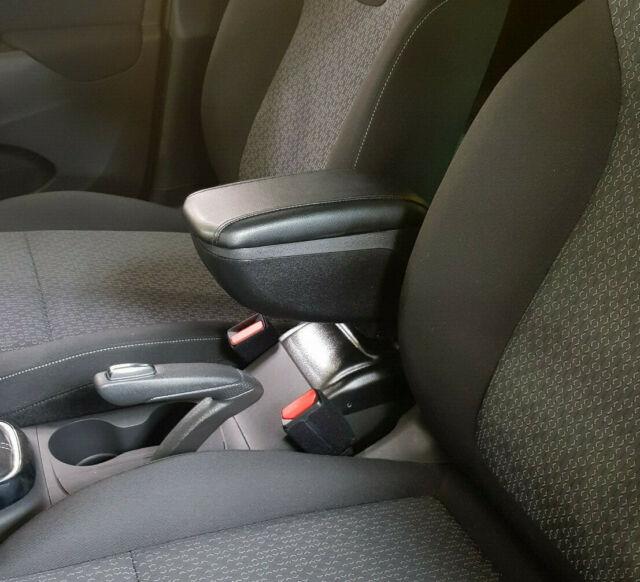 Opel Corsa Mittelarmlehne Armlehne Stoffbezug Schwarz Textil Neu
