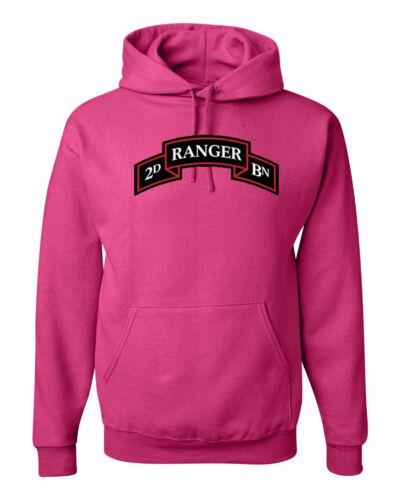 2nd Ranger Battalion US Army Military Sweatshirt Hoodie  SIZES S-3XL