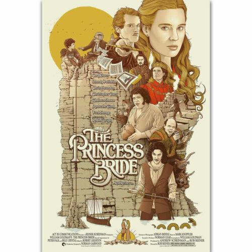 New THE PRINCESS BRIDE Vintage Movie T-22 Silk Fabric Poster