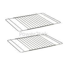 2 x Smeg Universal Adjustable Oven/Cooker/Grill Shelf Rack Grid Extendable UK