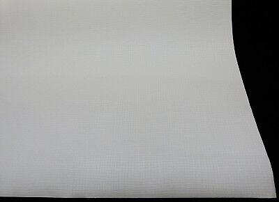 """8920-10-6 Vliestapete /""""Meistervlies Creativ/"""" Prägevlies Glasfaser Optik weiß"""