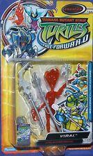 """Teenage Mutant Ninja Turtles Fast Forward 6"""" VIRAL Enemies New Factory Sealed"""