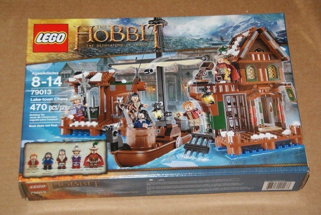 Lego el hobbit Ciudad Lago-Chase (79013) Nueva En Caja Sellada