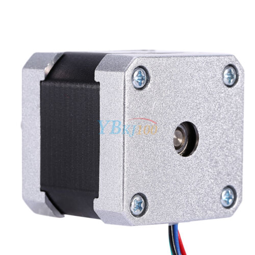 Nema17 Hybrid Stepper Motor DC12V 2-Phase 4000g.cm 4-Lead 1.8 Degree for Router