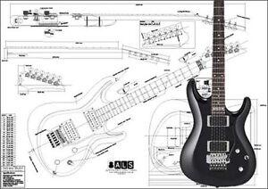 ibanez satriani electric guitar plan ebay. Black Bedroom Furniture Sets. Home Design Ideas